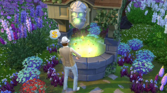 The Sims - Be Careful What You Wish For in The Sims 4 Romantic Garden Stuff - Official Site