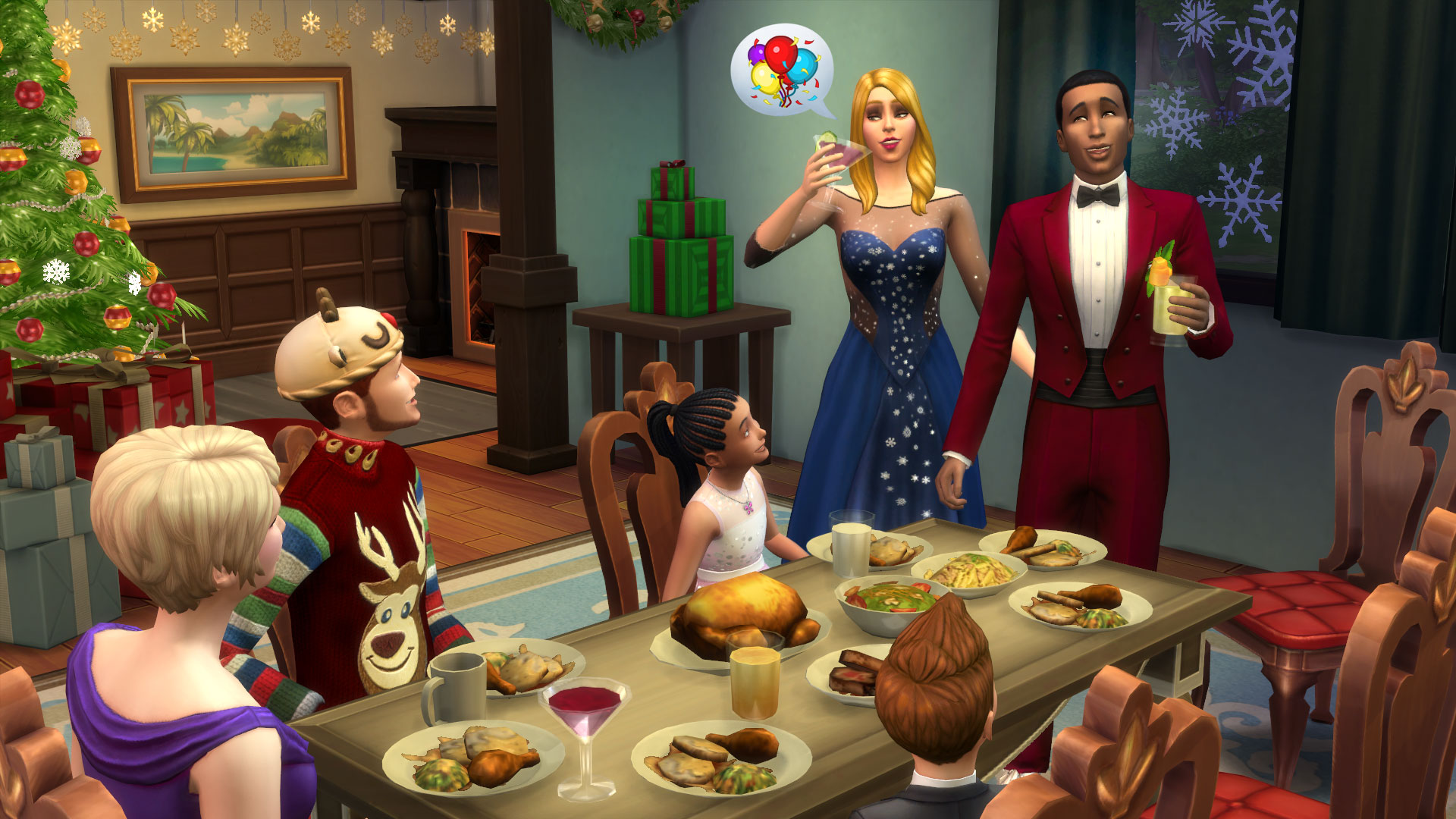 The Sims - Celebrate the Holidays With New Items in The Sims 4 ...