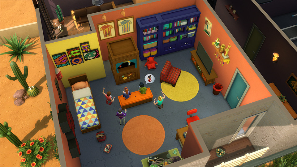The sims 5 tips to creating awesome rooms in the sims 4 for Sims 3 chambre bebe