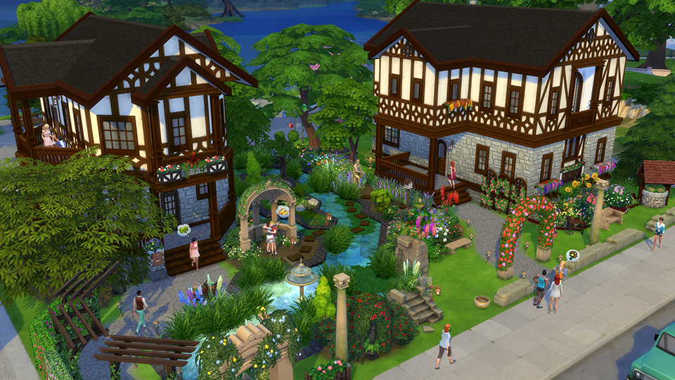 The Sims - Gallery Spotlight: 9 Awesome Romantic Garden Stuff Lots - Official Site