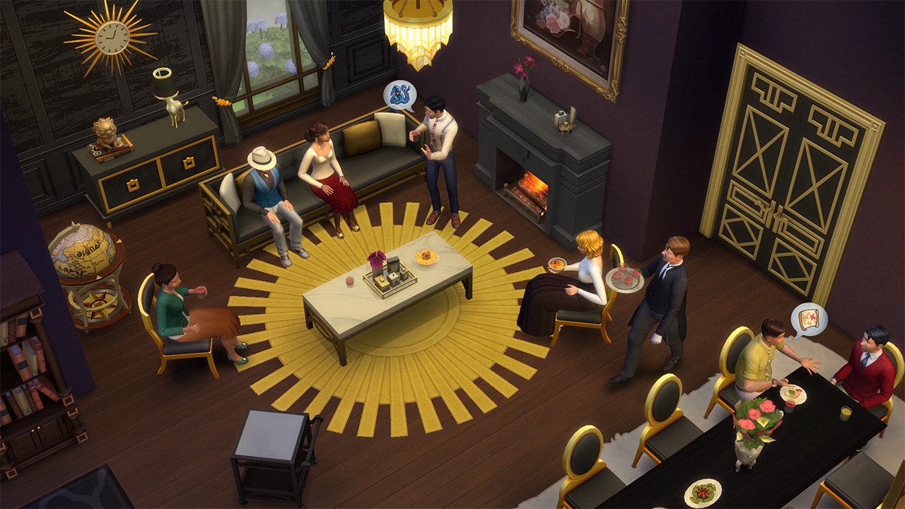 The Sims - It's Glamour Time! The Sims 4 Vintage Glamour Stuff Is Out Now - Official Site