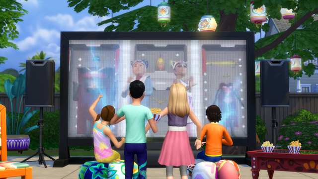 The Sims - 10 Movies Your Sims Can Watch in The Sims 4 Movie Hangout Stuff - Official Site