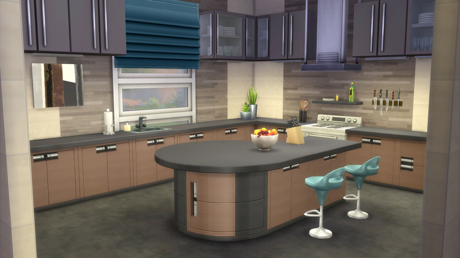 The sims how to create an amazing kitchen in the sims 4 for Sims 3 kitchen designs