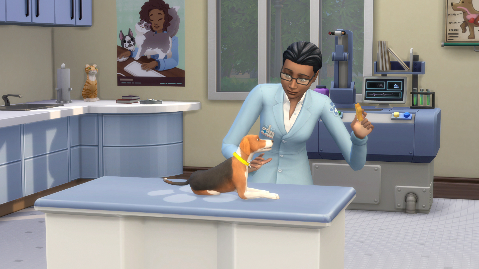 the sims 4 veterinario